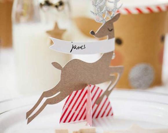 Detalles en tu mesa... para una Navidad diferente