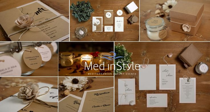 your invitations and decorations can be glaomourous respecting the environnement at the same time! #ecochicwedding #ecofriendlywedding #soyadecoration #ecoinvitation #mediterraneanwedding #greenwedding #wedinstyle