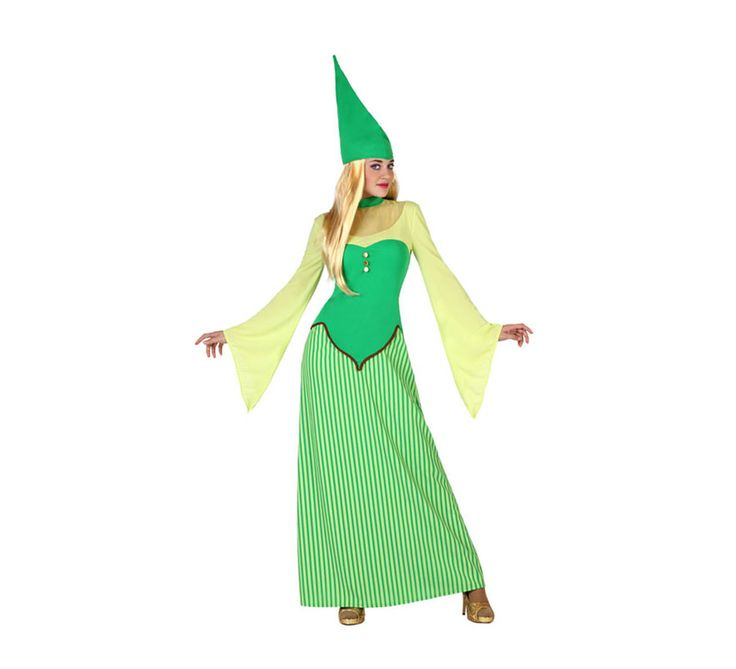 Disfraz de #Duende verde #Irlandesa para mujer. #saintpatrick #stpatrick #sanpatricio #disfraces #disfrazzes #costume #costumes