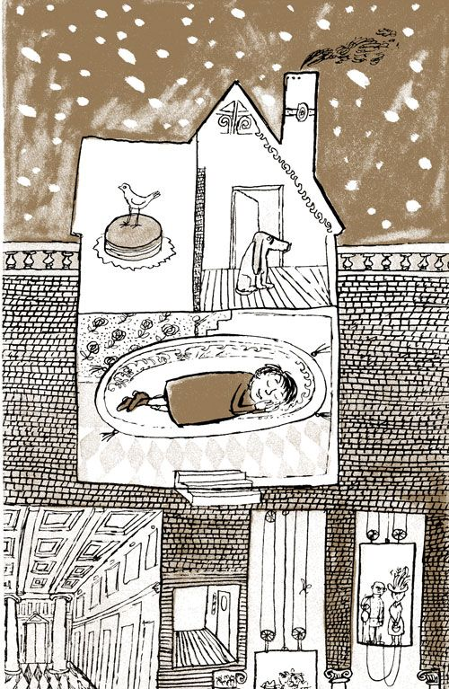 Little Boy Brown: The Loveliest Ode to Childhood and Loneliness Ever Written, Illustrated by Legendary Graphic Designer André François