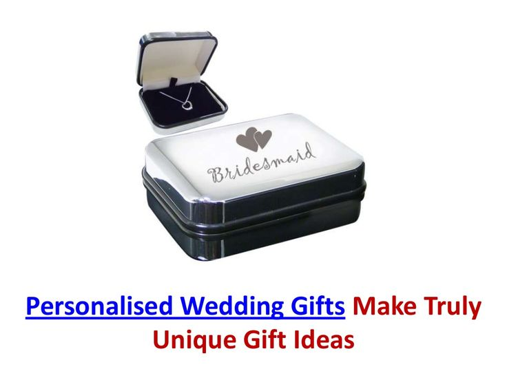 personalised-wedding-gifts-24448211 by WeddingGiftsx via Slideshare