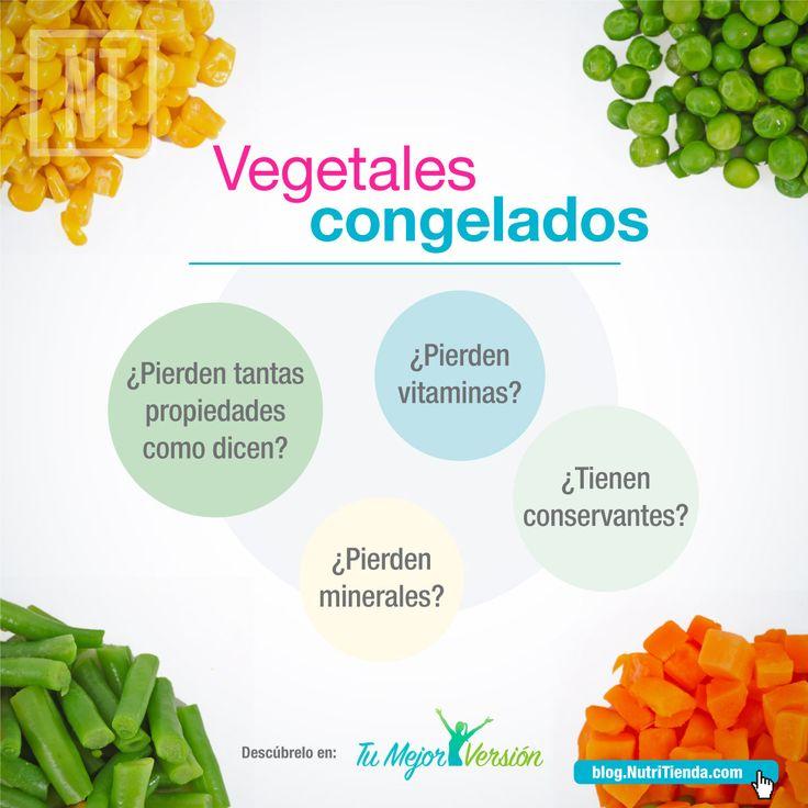 ¿Tienen menos propiedades nutricionales los vegetales congelados que los frescos? Descubre que hay de cierto en esta afirmación.