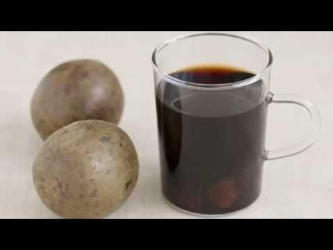 How to make Luo Han Guo Tea (Monk Fruit Tea) - YouTube