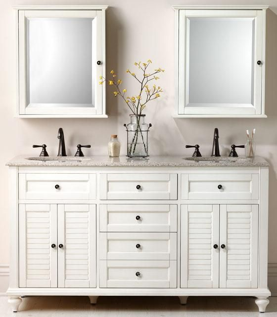 The Hamilton Bath Collection keeps necessities organized and out of sight. HomeDecorators.com
