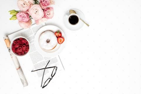 Blush Breakfast Collection #08