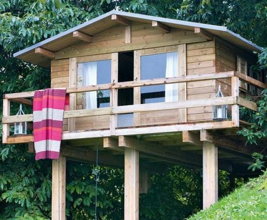 Basic Idea For Dream House 2; The Holiday Home Built On Stilts :]
