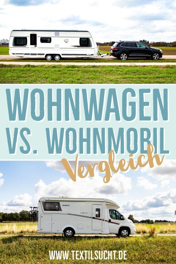 Familie auf Reise – Wohnmobil oder Wohnwagen?  Wohnwagen