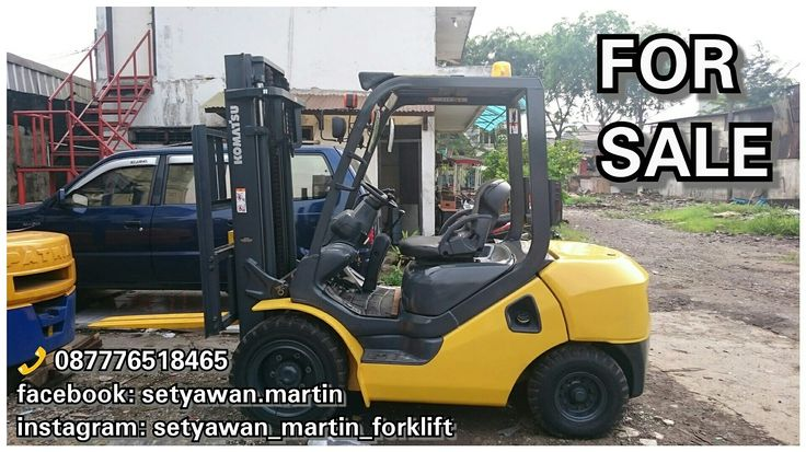[ FOR SALE ] Forklift Komatsu 3 Ton, FD30C-17, Manual, Lifting Height 3 M, Diesel Engine 4D94LE, 087776518465.