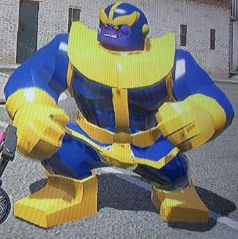 Thanos (Only on DLC Pack)