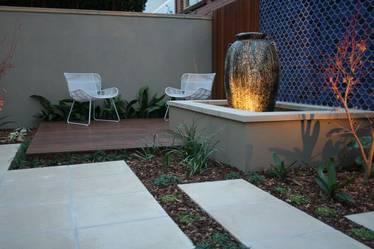 Courtyard. Design by RPGD. www.rpgardendesign.com.au
