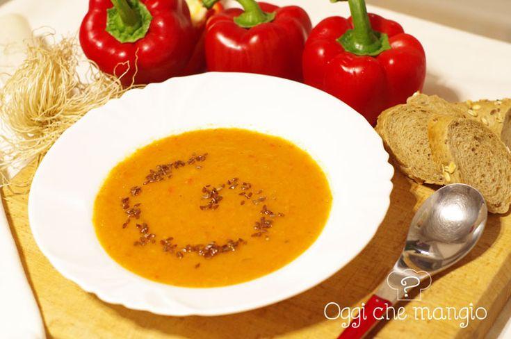 #Vellutata di #peperoni e #finocchio Oggi che mangio?