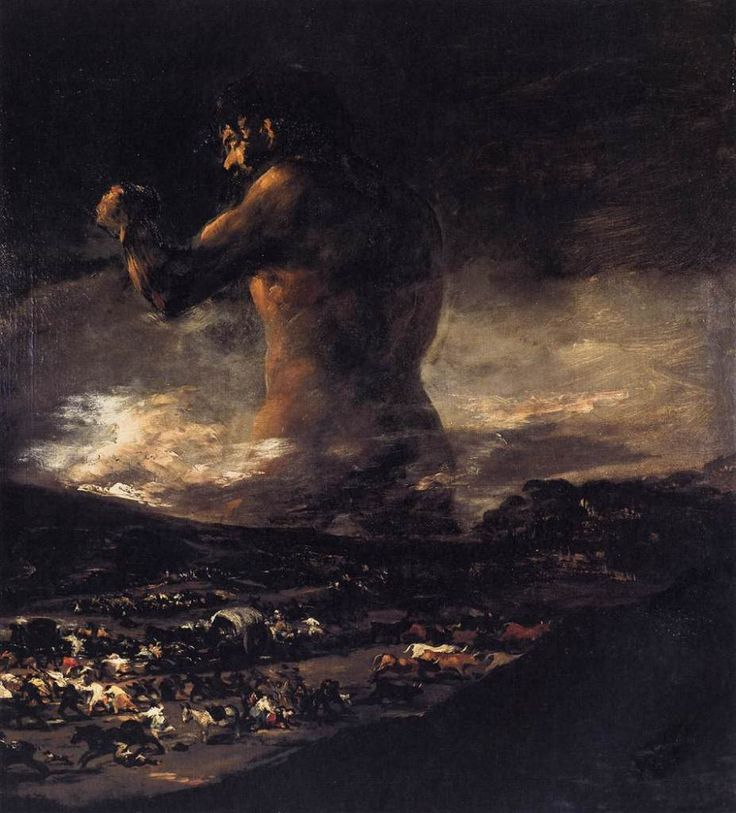 Francisco Goya: The Colossus