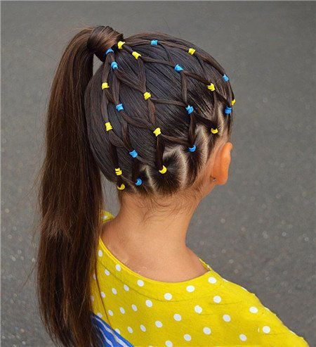 68 LOVELY BRAIDED HAIRSTYLES FOR CHILDRENS – Page 61 of 68