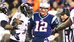 Tom Brady in Tuck Rule game
