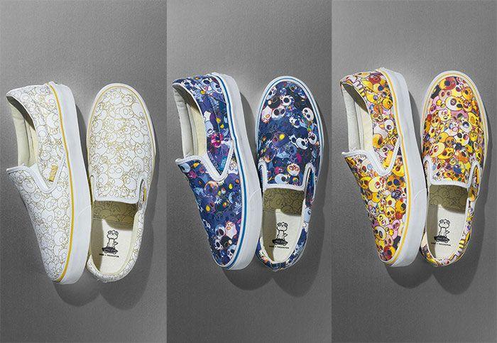 Takashi Murakami x Vans Sneakers 2015