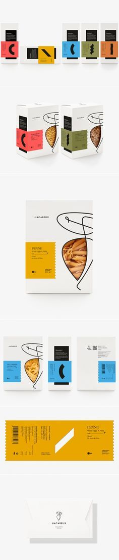 Macareux Pasta — The Dieline - Branding & Packaging Design