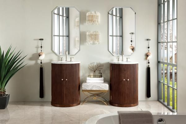 Canberra 24 James Martin Warm Espresso Bathroom Vanity Single Vanity Single Sink Bathroom Vanity Single Sink Vanity