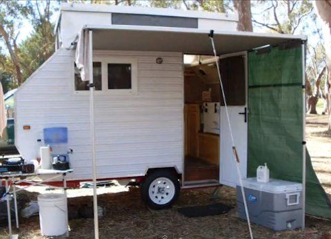 95 best Homemade Trailers images on Pinterest Travel trailers