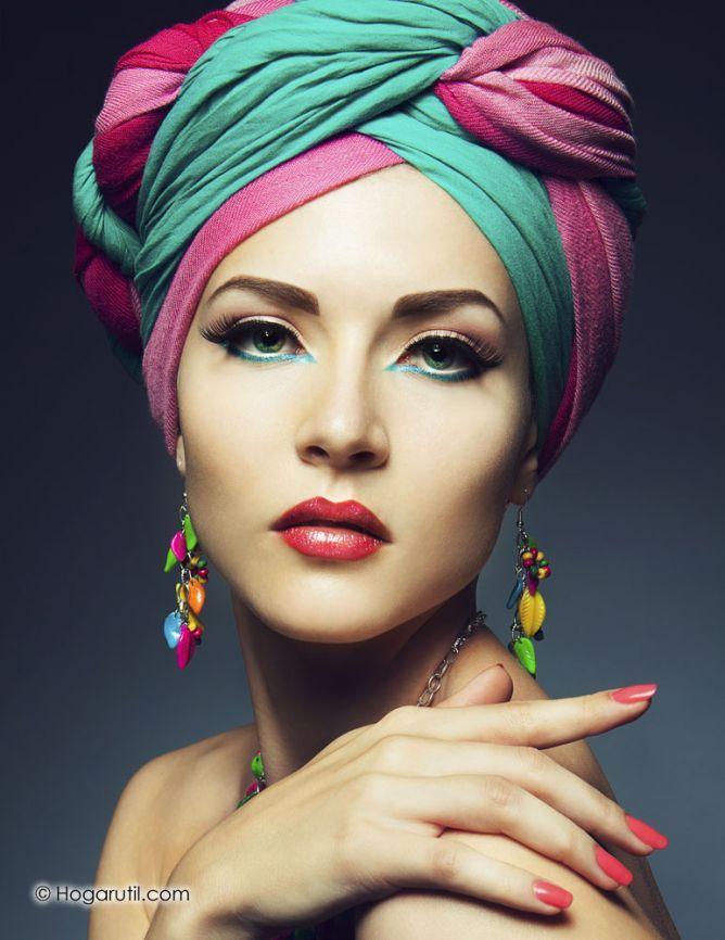 Las 25 mejores ideas sobre turbante para el cabello en for Turbantes pelo zara