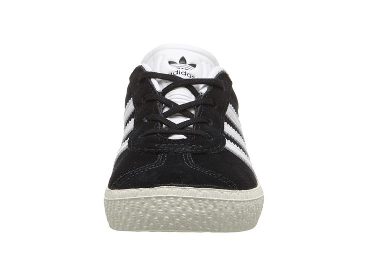 adidas Originals Kids Gazelle (Toddler) Kids Shoes Black/White/Gold
