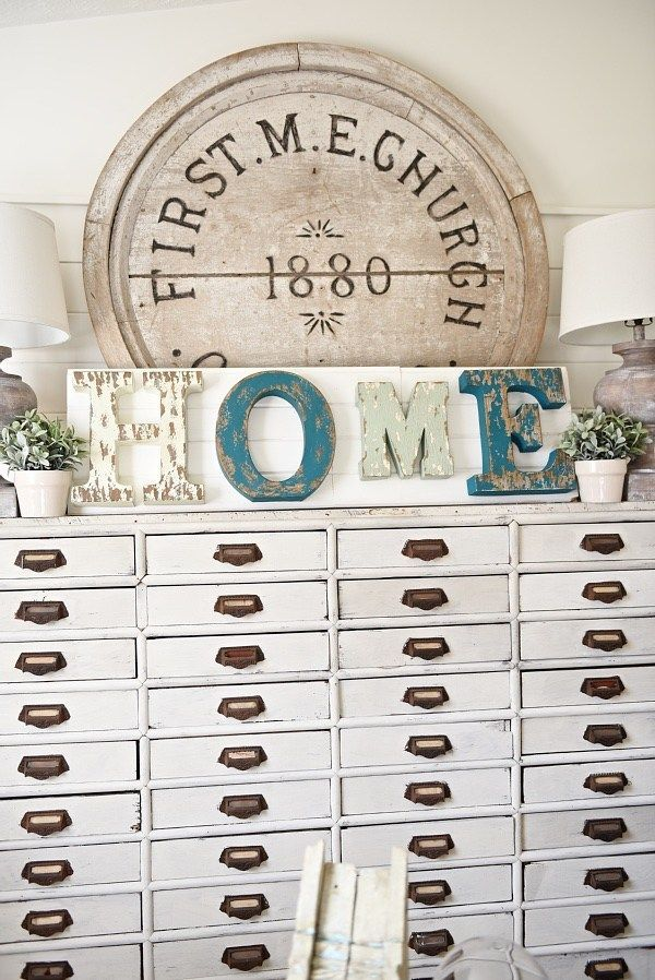 6 Awesome Diy Ideas Vintage Metal Letters For Wall Decor Rustic