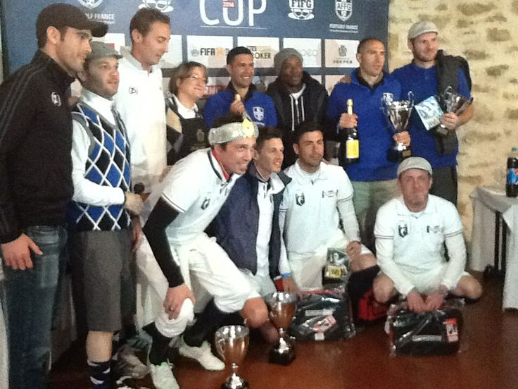 I Premiati della FootGolf Cup 2014