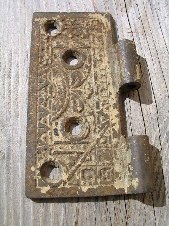 Antique Victorian Ornate Brass Half Door by Itzvintagedarling, $8.00