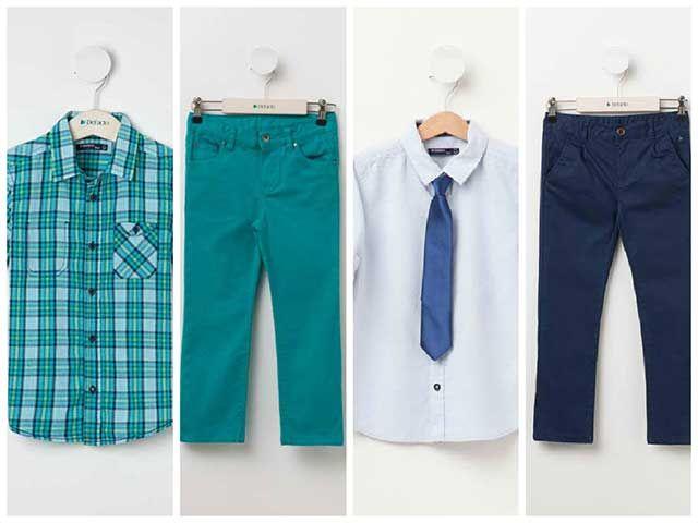 Yazlık erkek çocuk kıyafetleri (DeFacto)