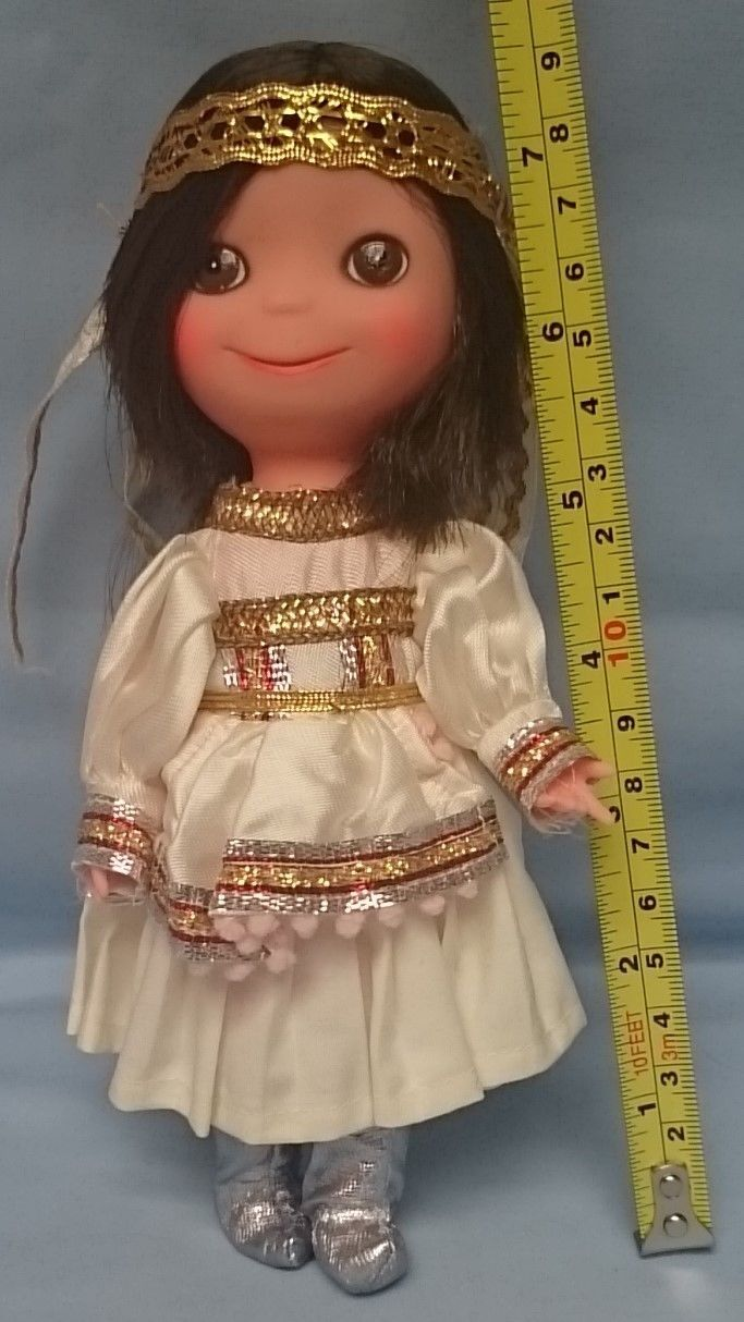 Kamar Vintage Disney Vintage Big Eye Vinyl Doll Made In Japan By Kamar Vintage