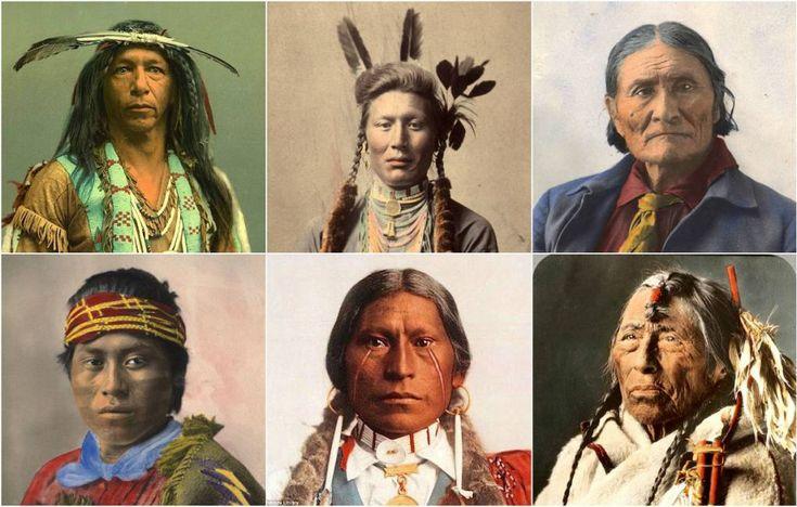 le rarissime immagini degli indiani d'america in posa davanti alla fotocamera - Cronache