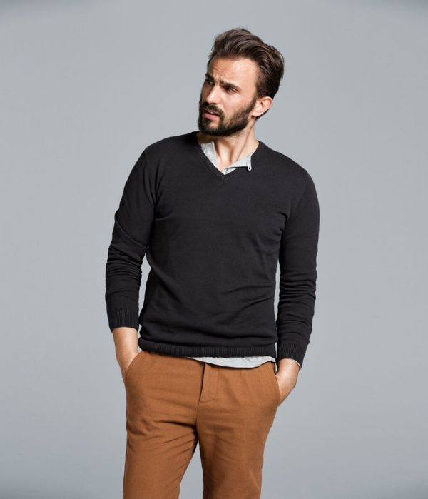 Sweaters that go over dress shirts for Sweater over shirt men