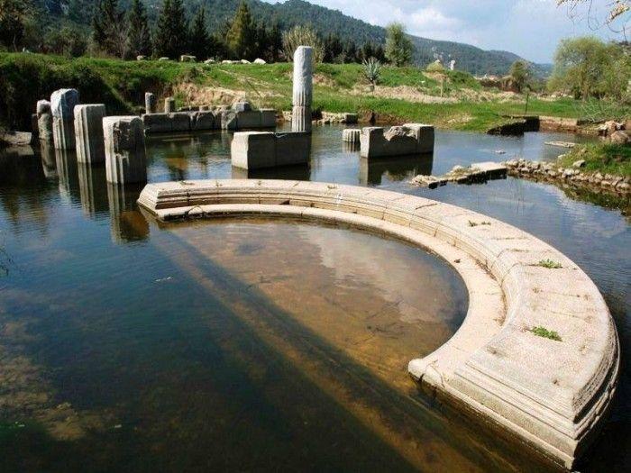 Izmir / MENDERES - Klaros Bilicilik Merkezini Ziyaret Etmeden Dönemeyin