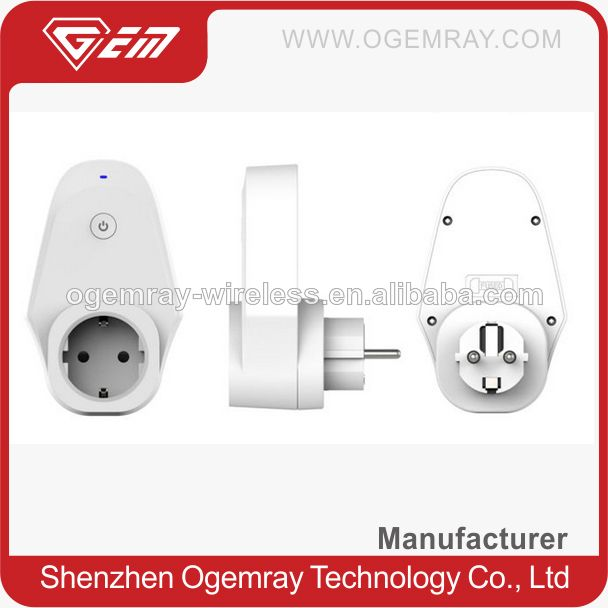 GWF-S070 OEM/ODM outfit ISM band wifi power switch