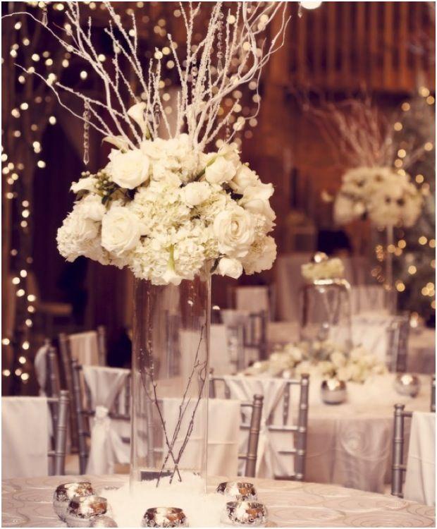 Winter Wedding Flowers Ideas: Winter Wonderlands That Give Us Chills