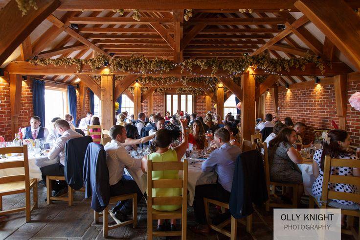 Rustic Oak Barn Wedding Venue In Kent Copyright Ollyknightphotographycouk