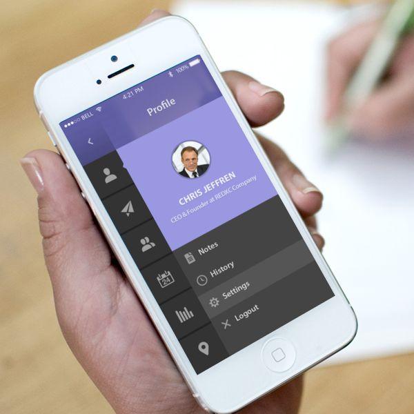 Management App - Mauve on Behance