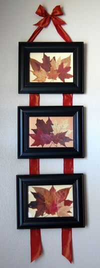 Easy DIY fall wall hanging