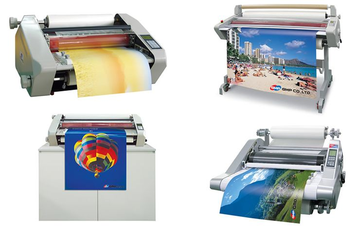 Laminating adds protection from water, sticky fingers, etc. They will work with most makes of laminating machines.
