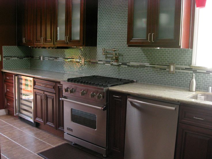 Kitchen Backsplash Green Glass Tile 31 best kitchen backsplash images on pinterest | glass tiles