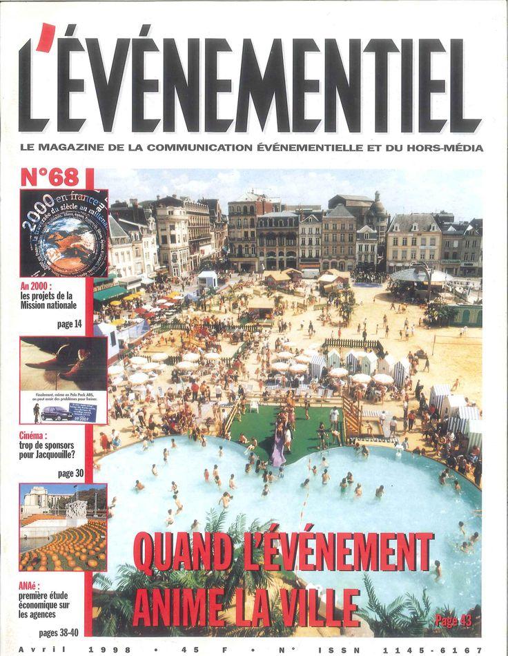 L'ÉVÉNEMENTIEL n°68 (avril 1998). Quand l'événement fait la ville