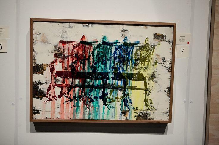 'Untitled', screen print by Jules German