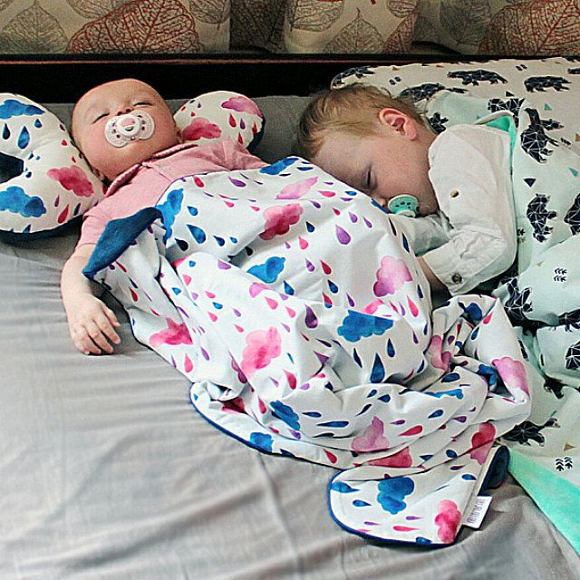 Baby blanket nursing pillow nursery bedding set by NuvaArt on Etsy