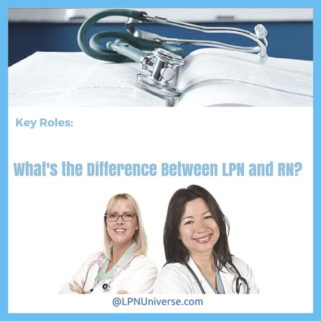 rn lpn comparison Lpn vs rn lpn is a licensed practical nurse and rn is a registered nurse the main difference that can be noticed between lpn and rn is in their duties and practice.