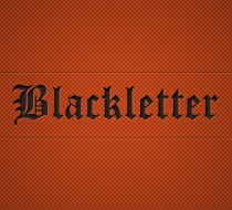 Font Collection: 10 Free Blackletter Fonts