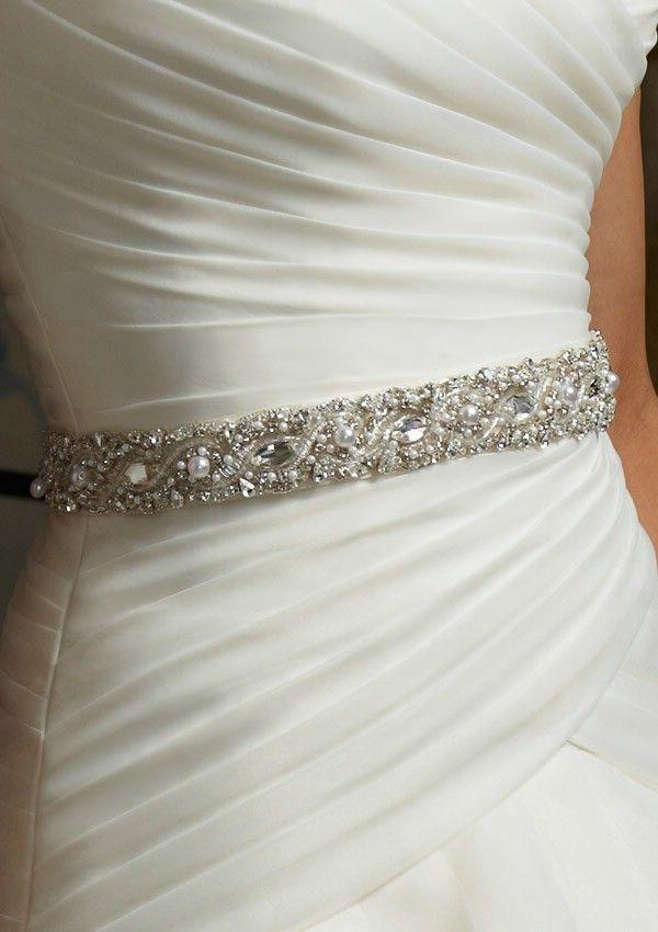 171 best Wedding Sashes and Belts images on Pinterest   Wedding ...