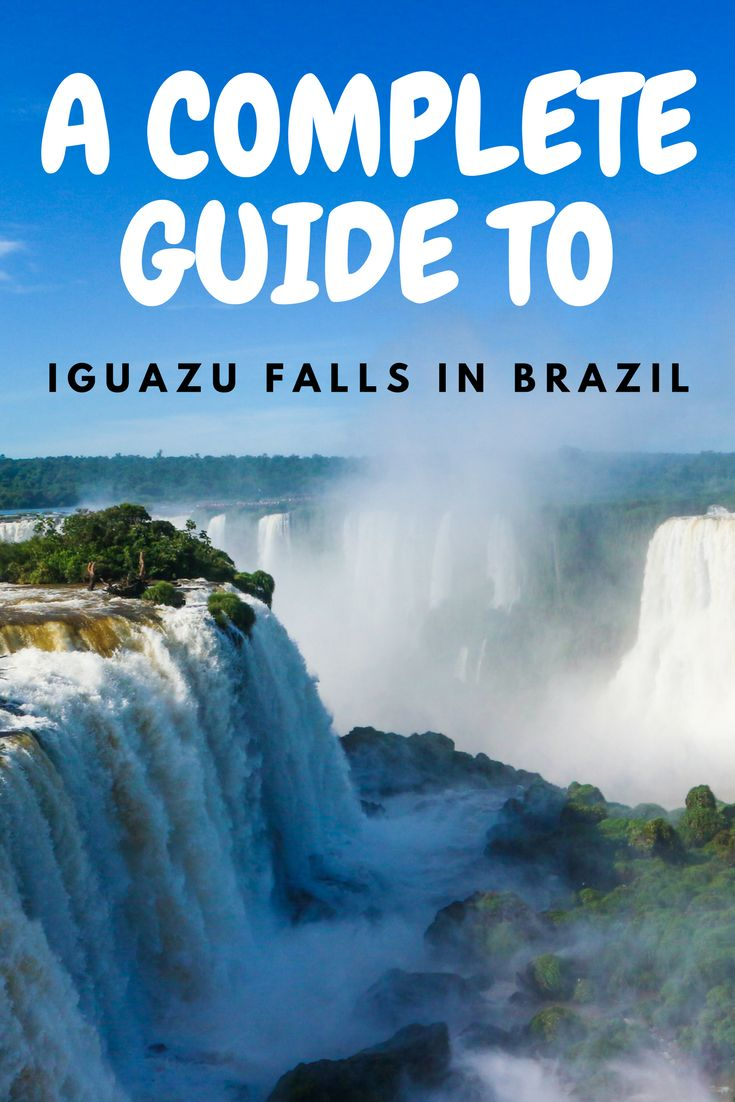 South America Map Borders%0A A guide to visiting Iguazu Falls  Brazil  Iguazu FallsOn The BorderThe  BrazilianSouth America