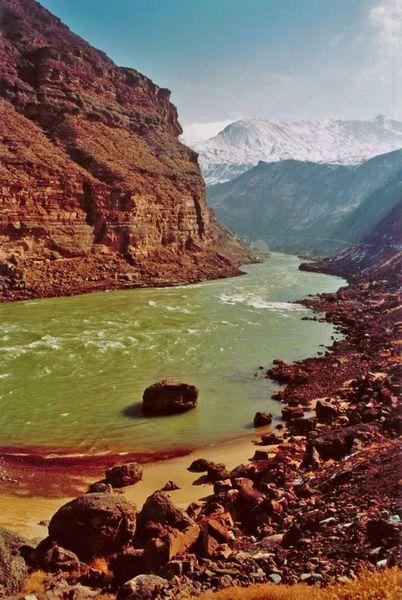 Yellow River or Huang He [Qinghai, China]