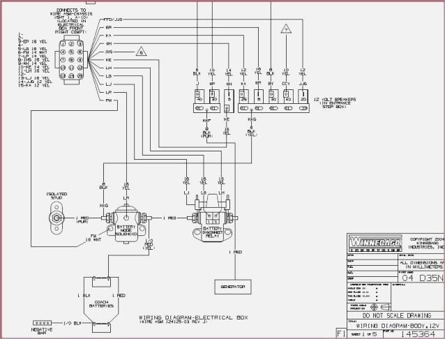 Wiring Diagram 1984 Winnebago Chieftain