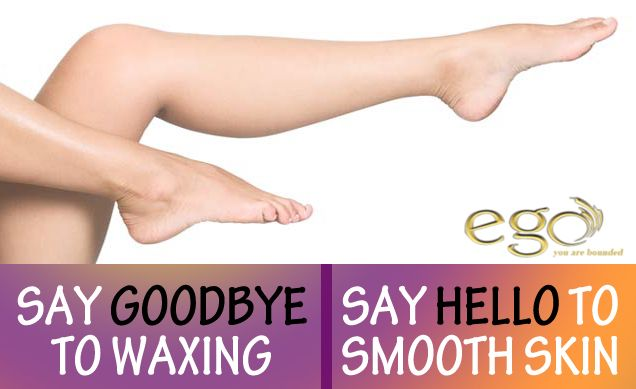Book your appointment for #laser hair #removal at Ego Wellness.