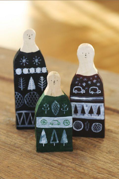 Three unwise men by Mattias Käll, via Behance